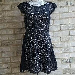Gorgeous Honey and Rosie Dress Black/ Cream Sz 13